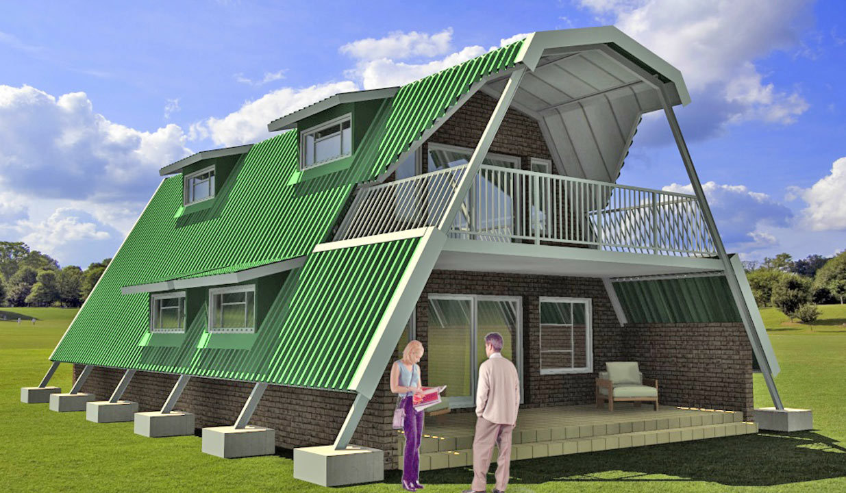 wonderful metal frame home plans #10: Steel Frames Steel Frame House Structures
