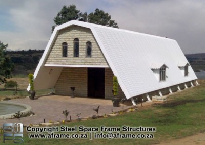 Owner-completed Chapel / Hospital Structure